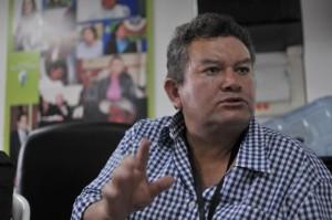 Ismael Malagón, víctima de las Farc. /Cristian Garavito