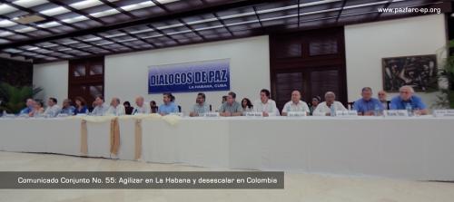 Foto tomada del portal, Paz FARC-EP