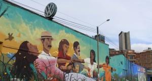 """Foto: Archivo CNAI/ Mural """"La Paz es Ahora"""""""