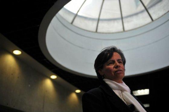 Foto: Andrés Torres - El Espectador/ Marisol Garzón, hermana de Jaime Garzón.