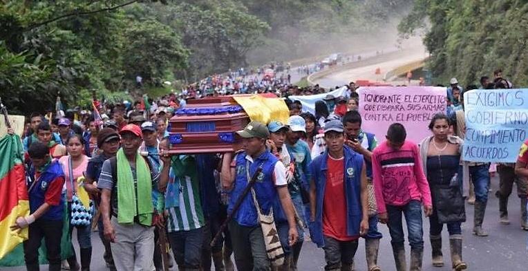 Foto: Hollman Morris/ La #MingaNacional es la vida y la diversidad del país, no la pueden matar a bala. Exigimos Gob. Nal cumpla acuerdos!/ 02 de junio de 2016