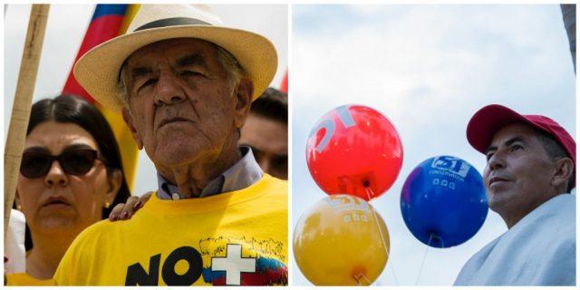 Fotos: Santiago Mesa/ Los ciudadanos que apoyen una u otra opción podrán conformar comités de campaña e inscribirlos ante el Consejo Nacional Electoral.