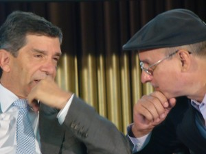 Rafael Pardo y Damián Alegría