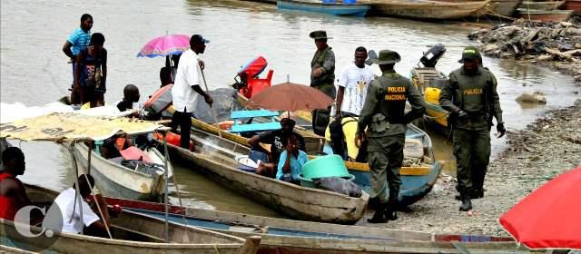 En Chocó hay presencia de grupos armados legales e ilegales. FOTO JUAN ANTONIO SÁNCHEZ