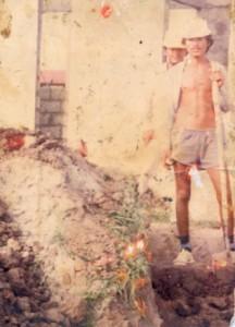 Esta es la única foto que Luz conserva de su hermano José Alejandro, asesinado por los paras en Ambalema en 1991.