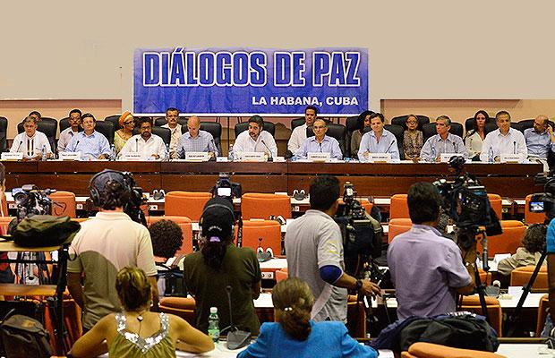 Durante poco más de dos años, los representantes del gobierno y de las Farc han llegado a tres acuerdos. Se espera que los diálogos culminen en 2015. Foto: archivo Semana.