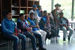 Foto CNAI/ Comisión de Coordinación de agenda para las movilizaciones. Centro de memoria Histórica. 23 de julio 2015