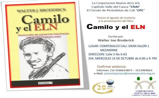 INVITACION LANZAMIENTO LIBRO DE BRODERICK