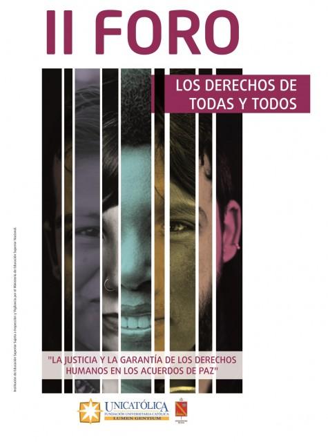 INVITACIÓN II FORO LOS DERECHOS DE TODOS Y TODAS22