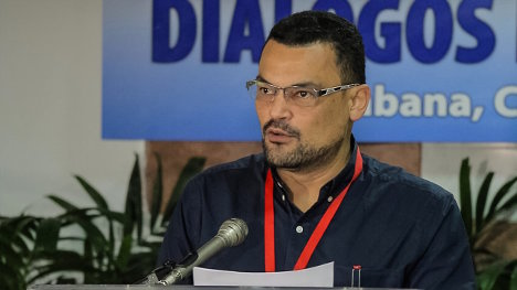 Foto: Portal Agencia Prensa Rural/ Segio Ibáñez, de la delegación de paz de las FARC