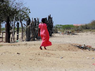 Foto: Blog, La Montaña mágina/ Jóven Wayúu, Comunidad Aipir - Cabo de La Vela. Uribia, La Guajira.