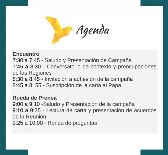 Agenda 9 de Marzo