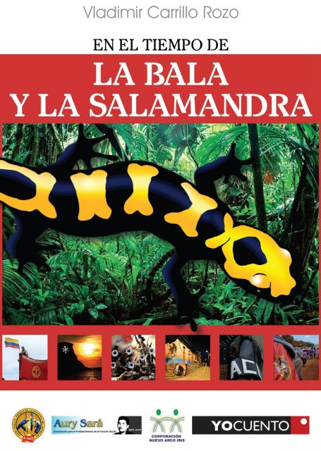 Invitación La bala y la salamandra