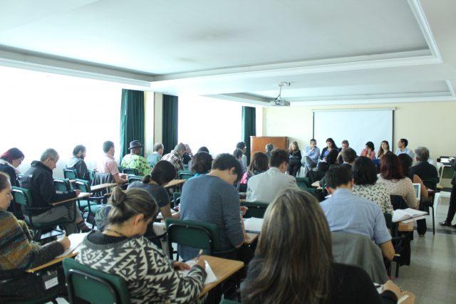 """Foto: Corporación Nuevo Arco Iris/ el seminario """"Construcción de propuesta de participación de la sociedad civil en mesa de negociación Gobierno Nacional – ELN"""