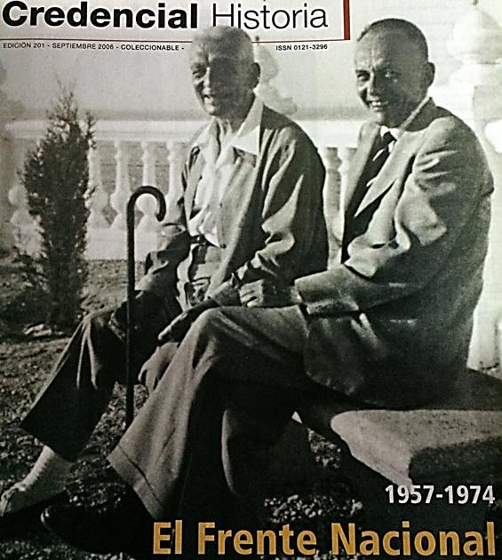Foto: Portada de la revista Credencial Historia, edición 201/ Septiembre 2006