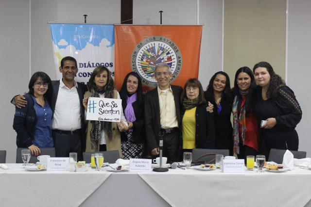 Foto: Campaña, Por una paz completa