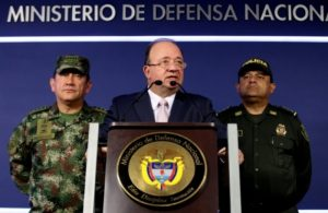 Foto: Portal TeleSur/ Ministro de Defensa, Luis Carlos Villegas, expresó que detrás de las mingas agrarias está el ELN.