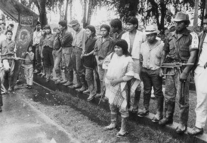 Foto: El Espectador/ El Quintín Lame y la Asamblea Nacional Constituyente en 1991