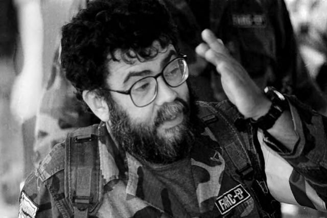 """Foto: Archivo El Tiempo/ Guillermo León Sáenz, """"Alfonso Cano"""", fue Comandante del Bloque Central, Comandante en Jefe y miembro del Secretariado de las FARC."""