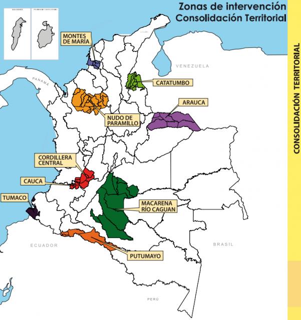 Mapa: Consolidación
